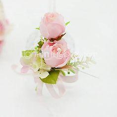 Fleurs de mariage Forme libre Roses Boutonnières Mariage / Le Party / soirée Coton de 2340411 2016 à €4.89