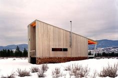 The Winthrop, Washington-located Methow Cabin, by Eggleston|Farkas Architects