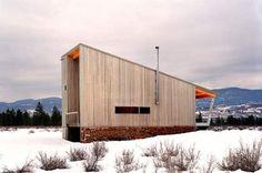 The Winthrop, Washington-located Methow Cabin, by Eggleston|Farkas Architects