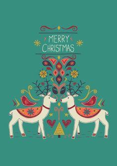 Christmas print & pattern: Jessica Hogarth