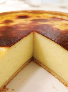 Parisian Flan (French Custard Pie)   Ricardo Cuisine
