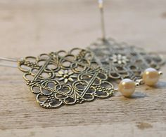 Anna earrings at The Rusted Chain