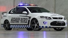 Australia reveals most powerful highway patrol car. The limited edition Falcon GT the fastest ever car built by Ford Australia.