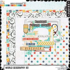 Monday's Guest Freebies ~ Various Designers  ✿ Follow the Free Digital Scrapbook board for daily freebies: https://www.pinterest.com/sherylcsjohnson/free-digital-scrapbook/ ✿ Visit GrannyEnchanted.Com for thousands of digital scrapbook freebies. ✿ jj-worldgeography101-prev