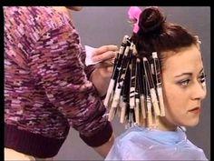 Como hacer permanente en el cabello corto