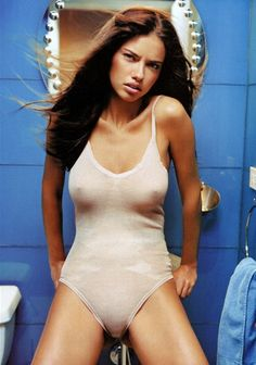 Adriana for GQ Portugal, June 2003.