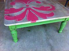 blue cedar lane: Coffee table makeover