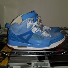 buy popular 178f9 3b00c Jordan Shoes   Nike Air Jordan Spizike Yotd Sz 11   Color  Blue Orange    Size  11