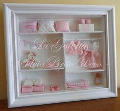 Cuadros para bebes nenas miniaturas con profundidad 3d - Cuadros para habitacion de bebe ...