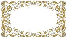 Molduras com arabescos dourados Vintage Tags, Vintage Frames, Molduras Vintage, Backrounds, Gold Lace, Clipart, Diy And Crafts, Backdrops, Projects To Try