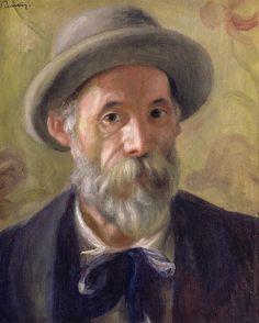 Pierre Auguste Renoir (1841-1919) - autoportrait