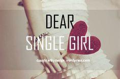 Blog Post: Dear Single Girl