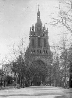 Basílica de Begoña, 1919, foto: Indalecio Ojanguren