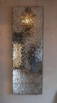 "Photo by @ nancy_nba- DIY Project: Mirror Mosaic Wall Art - Art DIY mirror mosaic project wall DIY Project: Mirror Mosaic Wall Art - Art DIY mirror mosaic project wall Chemical process: ""Transcience Mirrors"" by Mosaic Wall Art, Mirror Wall Art, Mirror Mosaic, Diy Mirror, Diy Wall Art, Mosaic Glass, Glass Art, Broken Mirror Art, Mirror Crafts"