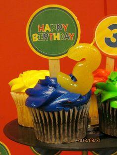 Alvin & The Chipmunk theme birthday party!