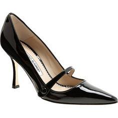 Work shoes I'd love - classic Manolo Blahnik Mary Jane's Zapatos Mary Jane, Mary Jane Shoes, Cute Shoes, Me Too Shoes, Women's Shoes Sandals, Shoe Boots, Dream Shoes, Beautiful Shoes, Manolo Blahnik