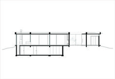 Image 4 of 37 from gallery of BT House / Estudio Jorgelina Tortorici Arq. Photograph by Alejandro Peral Casa Art Deco, Archdaily Mexico, Best Modern House Design, Raised House, Concrete Houses, Concrete Structure, Basement Plans, Ground Floor Plan, Roof Plan
