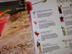 Nueva carta de cócteles para Café de Ronda