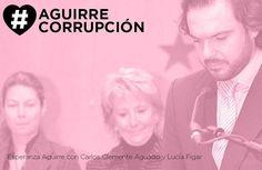 Un entramado tan perfecto que solo la indecencia les delataba. #AguirreCorrupción