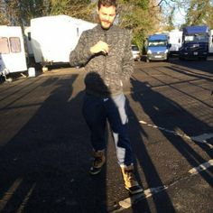 Jamie Dornan in Belfast while filming The Fall..Photo taken by  @hanastasia50 . December 10th, 2015. http://everythingjamiedornan.com/gallery/thumbnails.php?album=36 https://www.facebook.com/everythingjamiedornan/ @hanastasia50