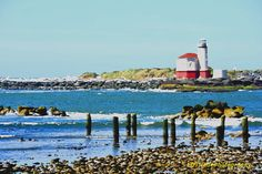 Lighthouse Photo Coquille Lighthouse by LDTwedePhotography on Etsy