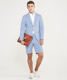 Men's Shorts Suit Outfit Inspiration
