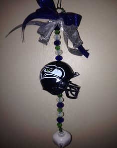 NFL Seattle Seahawks Christmas Ornament with by TreasuresbyFLASH