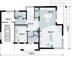 1000 images about planos on pinterest home plans ideas for Casas ideas y proyectos
