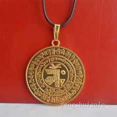 Feng Shui Element Balancing Medallion Pendant Necklace  Free Red String Bracelet W1226 => Tried it! Love it! Click the image. : Home Decor Tassels