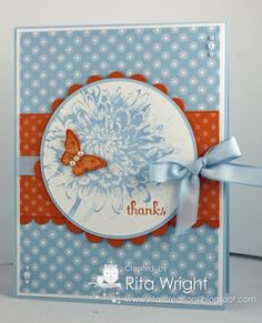 Blooming with Thanks by kyann22 - Cards and Paper Crafts at Splitcoaststampers