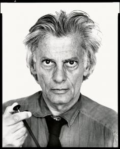 Richard Avedon, Montauk, New York, May 18, 1991. - from AmericanPhotoMag.com's article: A New Look at Richard Avedon's Portraits of the Powerful  Richard Avedon's remarkable journey from fashion and fine art maven to the most trenchant political photographer of our time.