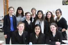 Manchester High School for Girls was invited to the first screening of our  #WomenChangeMCR films.   Our films about the #inspirational from #Manchester. Link below: