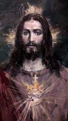 The Most Sacred Heart of Jesus, art by Jose Luis Castrillo