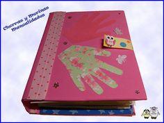 Churras y Merinas Manualidades: Libro de Texturas Scrapbooking para niños