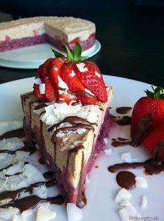 Osviežujúca mrazená ovocná torta - FitRecepty