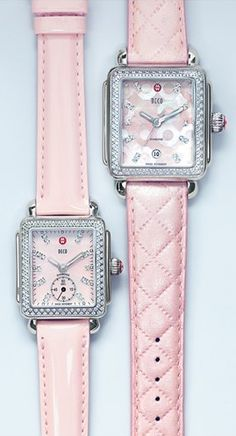pink watches, Gorgeous Michelle Diamond Watches