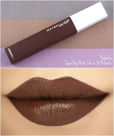 Maybelline In 2019 Beauty Beauty Makeup Lipstick Colors Best Brown Lipstick, Brown Lipstick Shades, Best Lipstick Color, Best Lipsticks, Lipstick Colors, Lip Colors, Maybelline Superstay, Maybelline Matte Lipstick, Gloss Eyeshadow