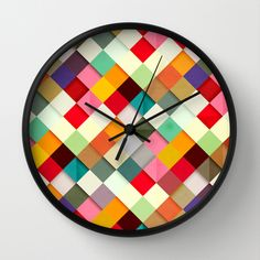 Pass this On Wall Clock by Danny Ivan - $30.00