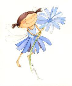 "Fada ""Flor de matí"". BERNADETTE CUXART Conte, Disney Characters, Fictional Characters, Disney Princess, Art, Flower Fairies, Flowers, Art Background, Kunst"