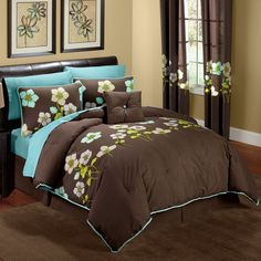 Superieur What Can Be Found In Your Mind When You Read Turquoise Room Ideas? Tag: · Brown  BedroomsTurquoise ...