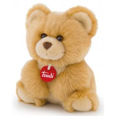 The Cuddly Toy Bear Fluffies (24Cm) In Beige Trudi Is The Offspring A Constant Companion From Birth. Made Of 100% Polyester, Which Bears Precipitated With A Fluffy Fur. He Also Has Button Eyes, Making A Funny-Kind Look Is Created. With A Height Of 24 Cm A Perfect Partner For Children Is Given To The Cuddly Bear.