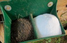 loose mineral and sodium bicarbonate