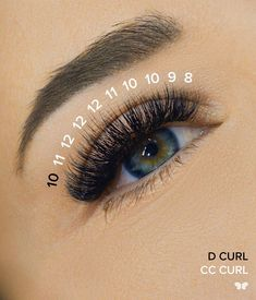 """Why does like to bump up the curl at the ends? """"To give a nice, surgery-free eye lift."""" The magic of lashes. Why does like to bump up the curl at the ends? """"To give a nice, surgery-free eye lift."""" The magic of lashes. Eyelash Extensions Styles, Volume Lash Extensions, Borboleta Beauty, Eyebrows, Eyeliner, Perfect Eyelashes, Natural Fake Eyelashes, Makeup At Home, Eye Lift"""