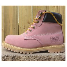 Pink steel toes?  For $40 on Amazon?  MINE.  They run about a size small, so order accordingly.