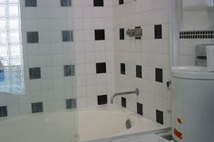 bathroom tiles grey blue and white parents small - Google Search