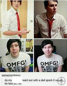 Okay but Dan in that second picture hOLY JESUS-