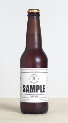 Sample Brew - Branding and packaging designed by Longton