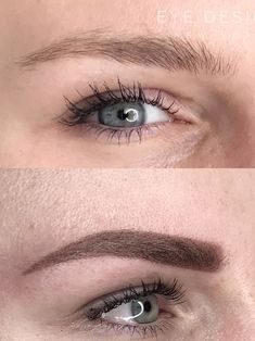 Microblading Before and After : Illustration Description A before-and-after comparison of a woman's eyebrows without microshading and after having Beauty Hacks Lips, Beauty Hacks Eyelashes, Beauty Hacks For Teens, Best Beauty Tips, Natural Beauty Tips, Beauty Secrets, Oily Skin, Sensitive Skin, Permanent Eyebrows