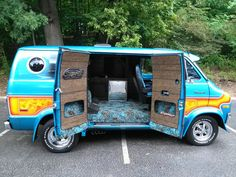 Dodge Van, Chevy Van, Customised Vans, Custom Vans, Station Wagon, Custom Van Interior, Old School Vans, Vanz, Cool Vans