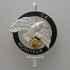 FRENCH COMMANDO - C4 MONITEUR - CNEC